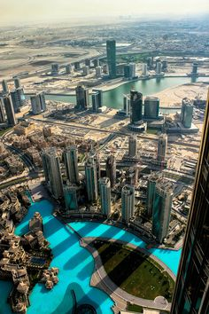 CJWHO ™ (View From Above by Safwan Hariri) #dubai #landscape #skyscraper #photography #architecture #view #desert