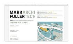 Mark Fuller Architects, website #webdesign