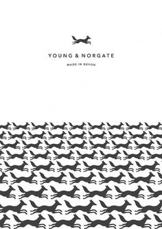 Creative Review - Young & Norgate Poster #print #minimal #poster #illustration