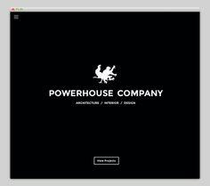 Powerhouse Compan #website #layout #design #web