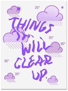 wake up #cloud #sunny #design #graphic #de #poster