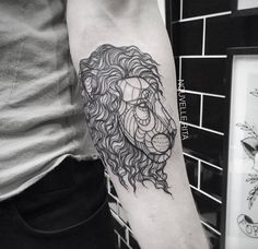 Artistic and Geometric Animals Tattoo Design #Tattoo #body art #ink #Tattoo art