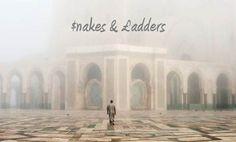 $nakes & xc2xa3adders on Behance #ladders #snakes #& #typography