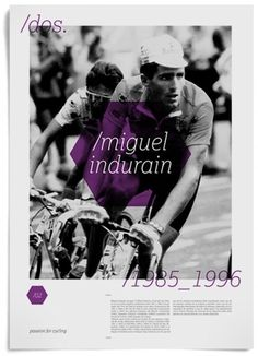 — Jorge León · Passion For Cycling #design #retro #leon #poster #cycling #jorge