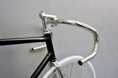 titan stem and nitto b123 #bicycle #silver #black #bike #bertelli #handlebar