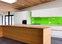 Spaces / Christian Woo Spaces - Garibaldi Highlands, Squamish #vancouver #design #wood #furniture #kitchen #green