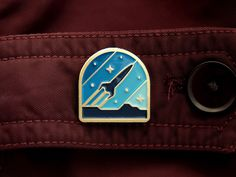 Rocketeer Pin by DKNG