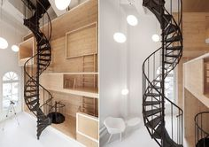 Tall Spiral Staircase – Fubiz™ #interior #staircase #design #decor #deco #decoration