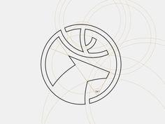 Dia Holdings - Logo grid system #logo #deer