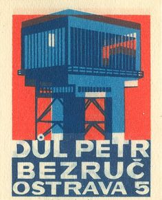 Czechoslovakian matchbox label | Flickr - Photo Sharing! #matchbox #label