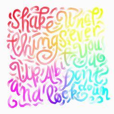 @spencerventure | spencerventure.com #lettering #handdrawn #logo #letterforms #penandink #ink #digital #rainbow