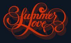 I Love Ligatures #text #lettering #design #logo #typography