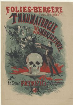Folies Bergere illustration #illustration #bizarre