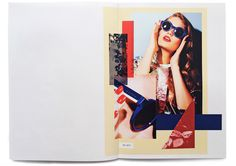 StudioThomson – Preen Eyewear SS14 #layout #design #collage