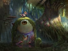 Hide and Seek by Artsammich on deviantART #monster #in #lake #pixar