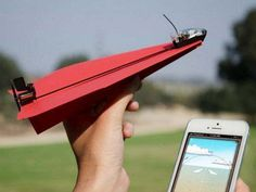With PowerUp 3.0 all you need to become a pilot is a paper plane and your smart phone! #design #pilot #product #industrial #plane #fun #paper