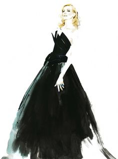 MademoiselleB_Cate-Blanchett.jpeg (889×1200) #fashion #illustration #david #downton
