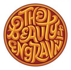 Beauty of Engraving – Erik Marinovich – Friends of Type #digital #gold #engrave #type #medallion