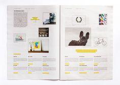 The Richmond Weekender / Luke Brown #design #graphic #newspaper