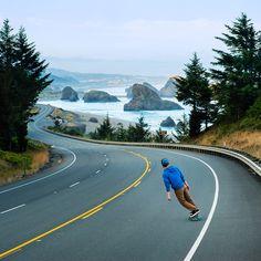 #skateboard #inspiration #trip #landscape
