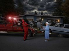 Gods Of Suburbia by Dina Goldstein