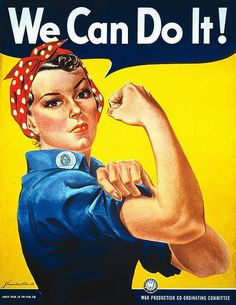 We Can Do It! #art