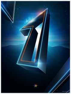 Tron Legacy countdown on the Behance Network
