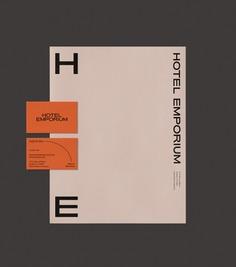 Hotel Emporium Branding by Forth + Back - Mindsparkle Mag #logo #packaging #identity #branding #design #color #photography #graphic #design #gallery #blog #project #mindsparkle #mag #beautiful #portfolio #designer