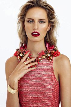 Karolina Kurkova for Elle Czech
