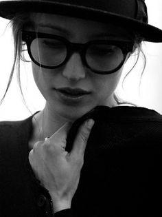 Likes | Tumblr #glasses #model #girl #photography #portrait
