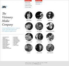 Visionary Media Company on Web Design Served #bvnbvn