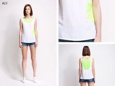 asu aksu / collections / ss2012 borderline no 13 #asu #white #collection #aksu #borderline #summer #fashion #neon