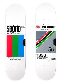 mrmcqueen:  5BORO #skateboard