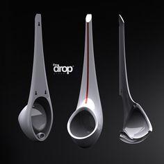 DROP Urinal Design #design #futuristic #gadget #industrial #concept #art