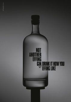 Effing Gin Bottle