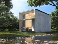 Minimal Lake House – Rabih Chehab with 5SRW