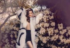 Saga Furs | Photographer Signe Vilstrup #model #photography #design #flowers