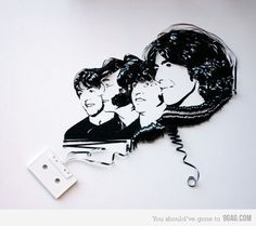 9GAG - Just for Fun! #minimal #tape #the beatles #cool