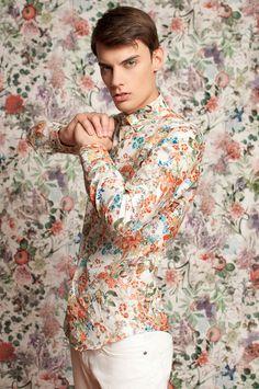 flowers #fashion #model #flowers
