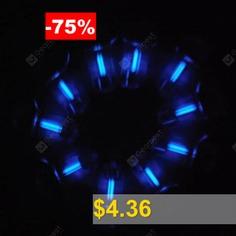1.5 #x #6mm #Tritium #Self-luminous #Keychain #15-Years #- #BLUE