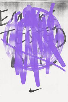 HORT vs NIKE #nike #poster #typography