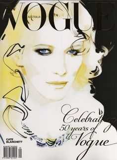 vogue_australia david downton #downton #illustration #fashion #watercolor #david #drawing