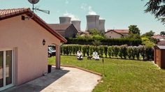 Andrea Pugiotto Captures The Life Near a Nuclear Power Plant in France