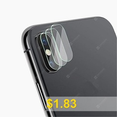 Tempered #Glass #Protector #Full #Cover #Protection #for #iPhone #X #Back #Rear #Camera #Lens #Screen #Clear #Protective #Film #Guard #- #TRANSPARENT