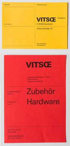 vitsoe tumblr #type #layout #yellow #red