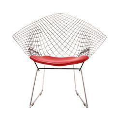 Bertoia Diamond Chair | Knoll | Harry Bertoia #bertoia