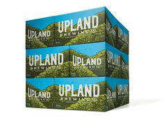 Young & Laramore Upland Brewing Co #packaging #brewery #craft beer