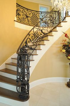 Masterful Railings #staircase #railings