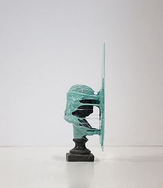 FFFFOUND! #estatua #paint #glue