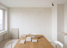 Workspace. Penthouse Antwerp by Hans Verstuyft Architecten. #workspace #penthouseantwerp #hansverstuyftarchitecten